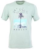 Hurley Dri-Fit Palmwater T-Shirt Silver Pine