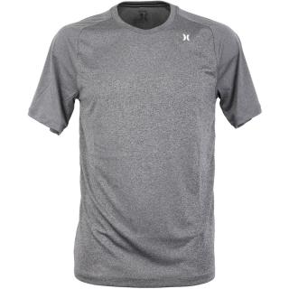 Hurley Quick Dry Warp Knit T-Shirt Heather Black