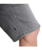 Volcom Solver Denim Short Jeans Grey Vintage