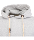 Noorlys Tricolor Hooded Pullover 3D White