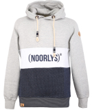 Noorlys Tricolor Hooded Pullover 3D White S