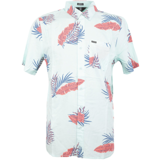 Volcom Bermuda Hemd Resin Blue XL