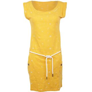 Ragwear Tag A Organic Kleid Yellow XL