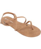 Volcom Strapped In Sandals Vintage Brown