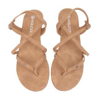 Volcom Strapped In Sandals Vintage Brown 38