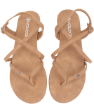Volcom Strapped In Sandals Vintage Brown 40