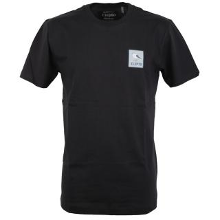 Cleptomanicx Run Gull T-Shirt Phantom Black