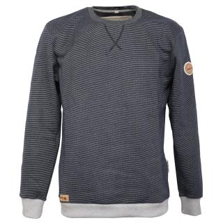 Noorlys Pontus Sweater Pullover Marine Striped Ash