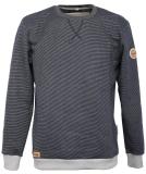 Noorlys Pontus Sweater Pullover Marine Striped Ash XL
