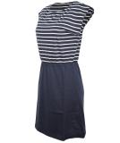 Forvert Manado Kleid Navy Beige