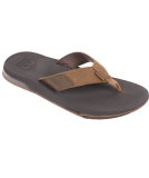 Reef Leather Fanning Low Sandale Herren Slap Brown braun