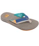 Reef Fanning Low Sandale Herren Slap Tan Blue
