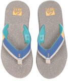 Reef Fanning Low Sandale Herren Slap Tan Blue 43