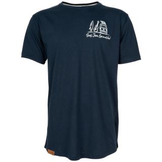 Shisha Fiiedel T-Shirt Navy M