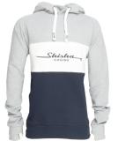 Shisha Zeen Hooded Pullover Ash 3D Navy