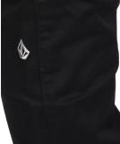Volcom Frickin Modern Stretch Stoffhose Black schwarz