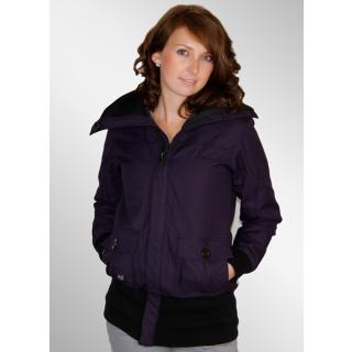 Iriedaily Long Cut Shep Jacke dark purple