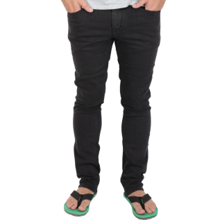 Volcom 2x4 Denim Herren Jeans Ink Black schwarz