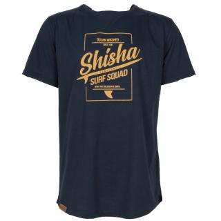 Shisha Octo T-Shirt Surf Logo Navy XXL