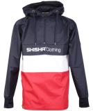 Shisha Noorder Windbreaker Jacke Uni Navy White Red XL