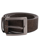 Iriedaily Cork Flag Belt Kork Gürtel D Brown
