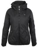 Ragwear Dizzie Damen Jacke mit Kapuze Black schwarz