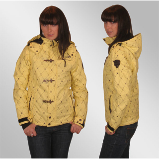 Rehall Rita Jacke in Yellow Frost Check