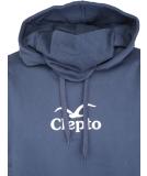 Cleptomanicx CI Mask Pullover mit Maske Blue S