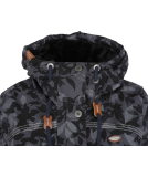 Ragwear Tawny Camo Damen Parka Jacket Anthracite