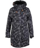 Ragwear Tawny Camo Damen Parka Jacket Anthracite S