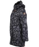 Ragwear Tawny Camo Damen Parka Jacket Anthracite L