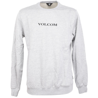 Volcom Supply Stone Crew Herren Pullover Heather Grey