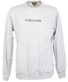 Volcom Supply Stone Crew Herren Pullover Heather Grey