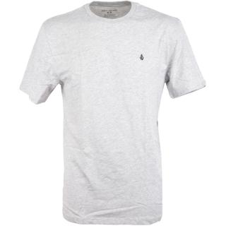 Volcom Stone Blanks Basic T-Shirt Heather Grey S