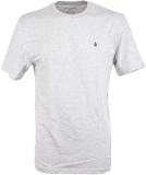 Volcom Stone Blanks Basic T-Shirt Heather Grey M