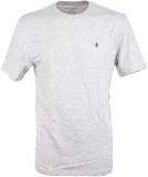 Volcom Stone Blanks Basic T-Shirt Heather Grey L