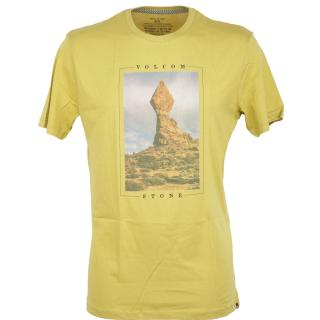 Volcom Stone Stack T-Shirt Olive L