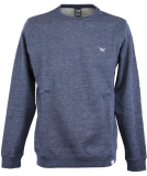 Iriedaily Chamisso 2 Flag Crew Pullover Night Sky L