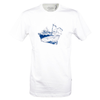 Cleptomanicx Tugger T-Shirt Basic White S
