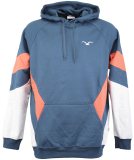 Cleptomanicx That is That Hooded Pullover Blue Wing