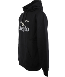 Cleptomanicx Big C.I. 2 Hooded Pullover Black schwarz