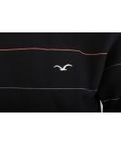 Cleptomanicx Multistripe Crewneck Pullover Black schwarz S