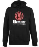 Element Vertical Hood Pullover Flint Black