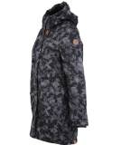 Ragwear Tawny Camo Damen Parka Jacket Anthracite XS