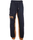 Noorlys Sundag Pant Uni Jogginghose Navy Sudan Brown