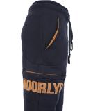 Noorlys Sundag Pant Uni Jogginghose Navy Sudan Brown S
