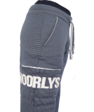 Noorlys Sundag Pant Damen Jogginghose MarineStriped PearledIvory M