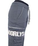 Noorlys Sundag Pant Damen Jogginghose MarineStriped PearledIvory L