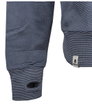 Noorlys Cova Hooded Uni Pullover Marine Striped M