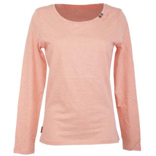 Ragwear Florah Long Organic Langarmshirt Peach S